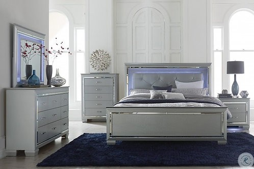 Alexander Collection Silver Finish