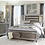 Thumbnail: Lilla Collection PIECE BEDROOM SET IN SILVER GREY METALLIC