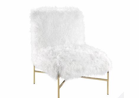Gold White Fur