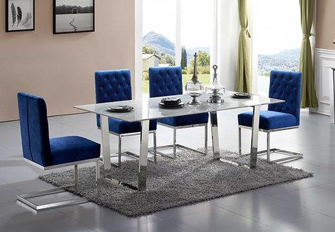 Chrome Dining Table