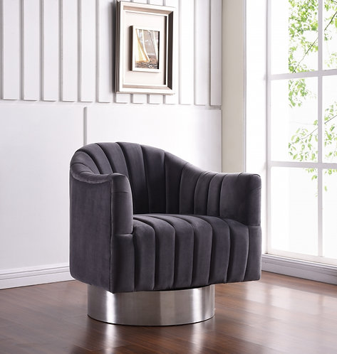 Accent chair  Velvet