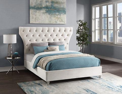 Luz Velvet Bed