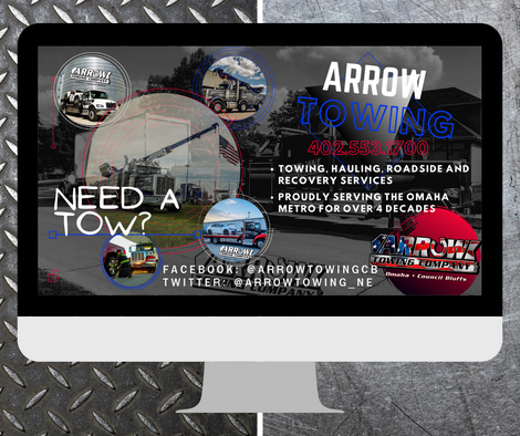 Arrow Towing Advertising Campaign