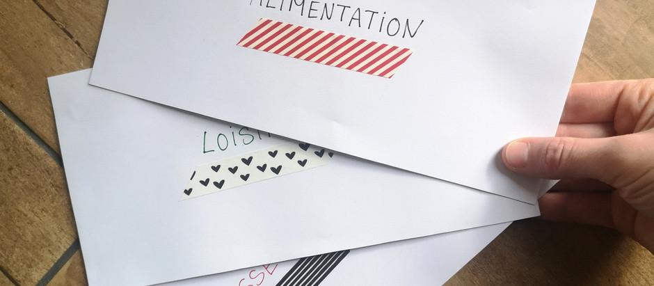 GÉRER SON ARGENT : La méthode des enveloppes avec paiement par carte