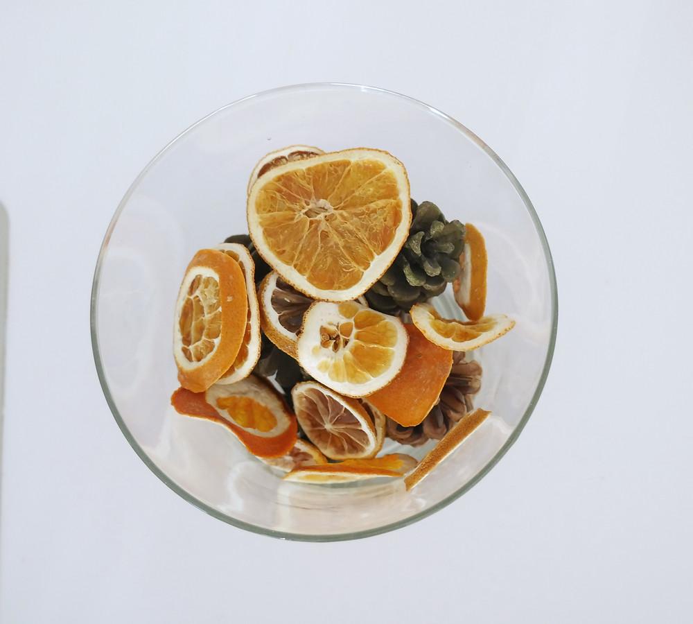 Comment faire sécher des oranges / citrons ?