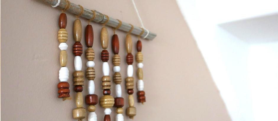 Tuto Suspension déco en perles, au style ethnique