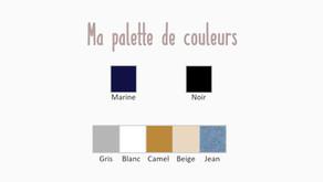 Choisir sa palette de couleurs pour un dressing minimaliste