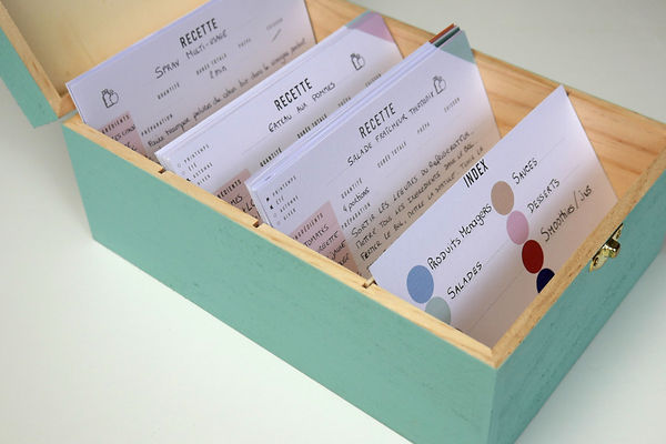 Boîte à recettes