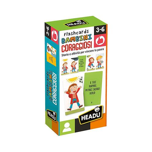 Flashcards Bambini Coraggiosi