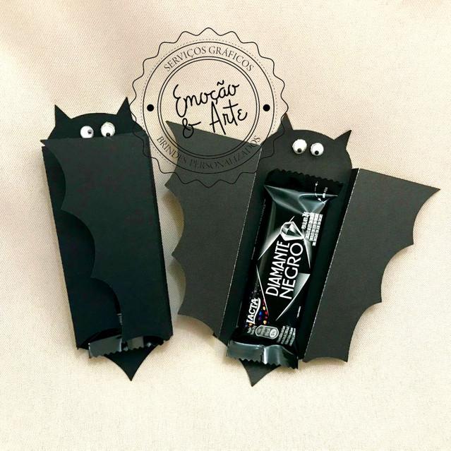 #022 - Morcego de Chocolate Personalizado