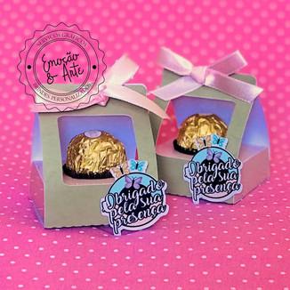 #028 - Porta Ferrero Rocher Personalizoda