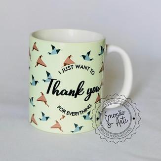 #026 - Caneca de Porcelana Personalizada