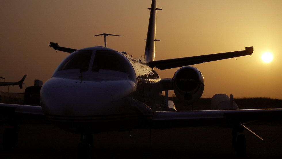 airplanes_cessna_citation_ii_sunset_silh