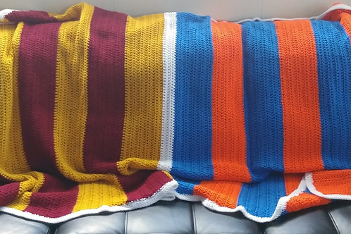 House Divided Couch Blanket