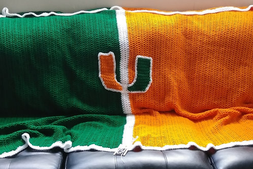 College Couch Blankets