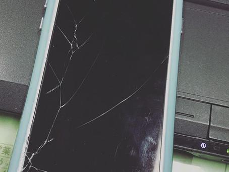 iPhone 6s割れた!