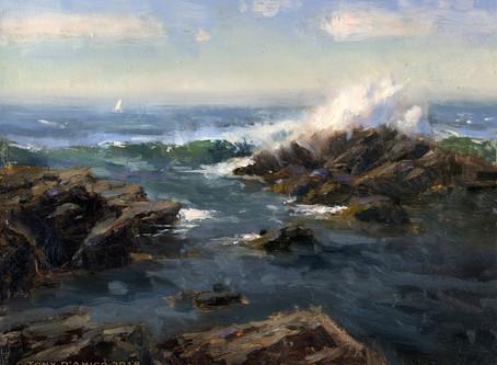 Episode 83-Tony D'Amico, oil painter, Fairfield, CT