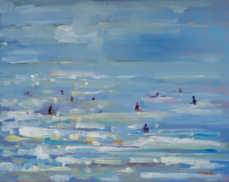 Lydia Meade Glistening Surf from George