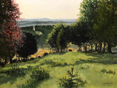 Episode 54 - Mike Maclean, plein air oil painter from Chelmsford, MA