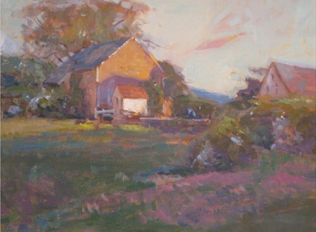 Episode 71-David Lussier, plein air painter, Somersworth, NH
