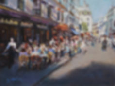 A Paris cafe 12x16 Stan Moeller.jpg