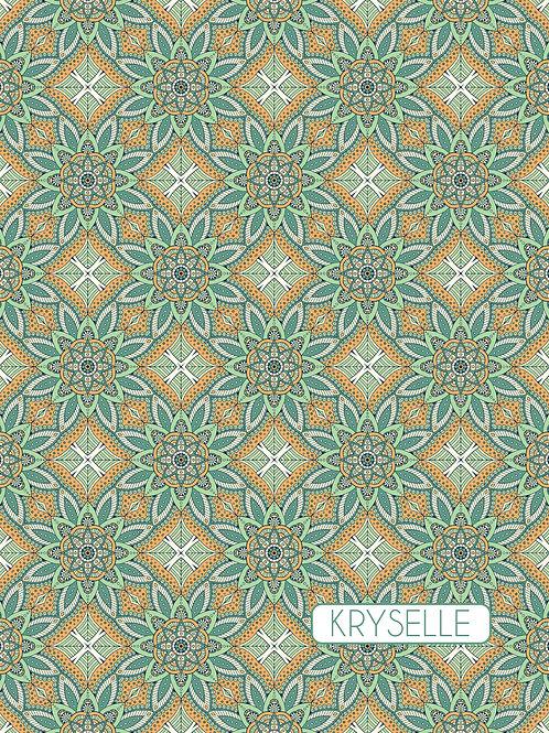 Paisley - Green