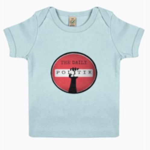 Daily Politik Baby Lap T-shirt