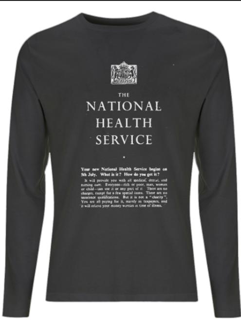 Men's NHS Long Sleeve T-Shirt