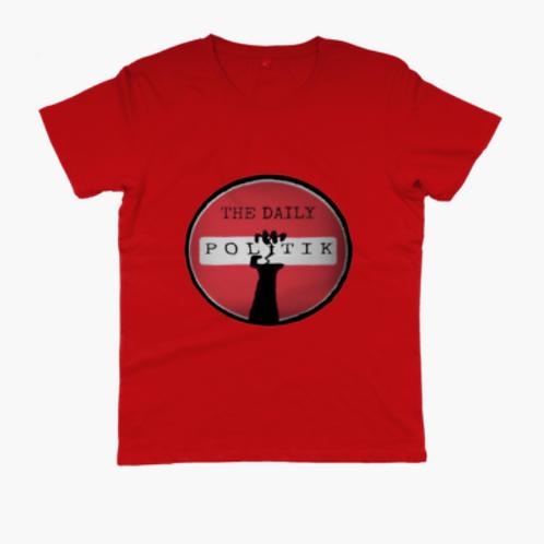 Unisex Daily Politik Slim Cut T-shirt