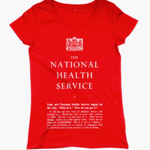 Women's NHS Regular Fitted T-shirt