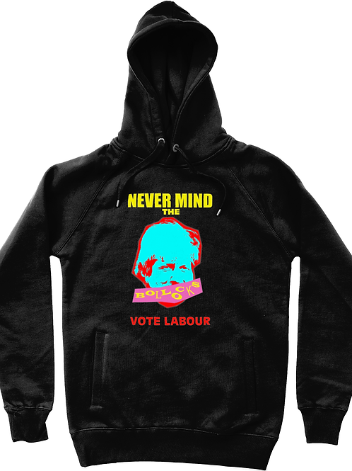 Never Mind the Boris - Warhol Unisex Pullover Hoody