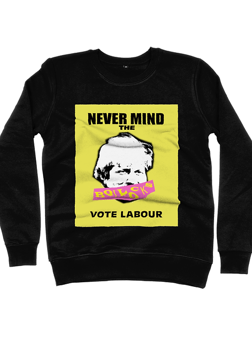 Never mind the Boris B side Classic Sweatshirt