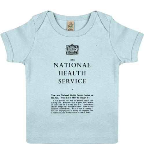 Baby NHS Lap T-shirt