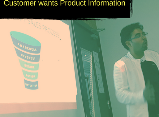 Sales Mindset #1 What really convince a customer? Product Information or Something Else?