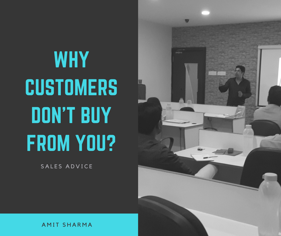 Why Customers Don't Buy From You?