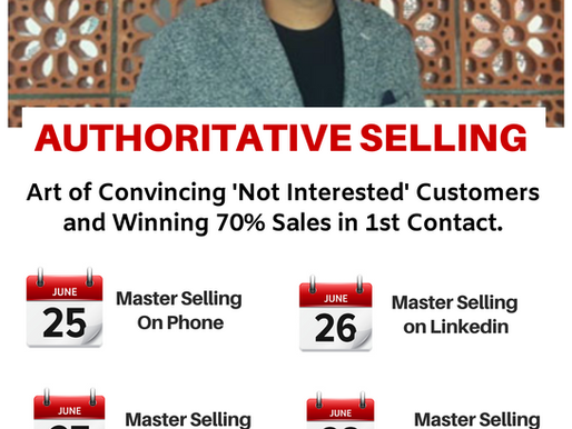 Master Selling on Phone