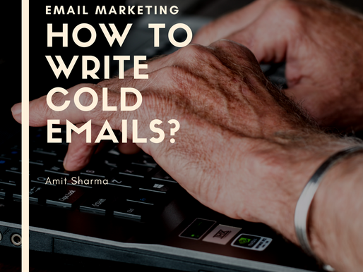 How to write Cold Emails for Marketing that generate response?