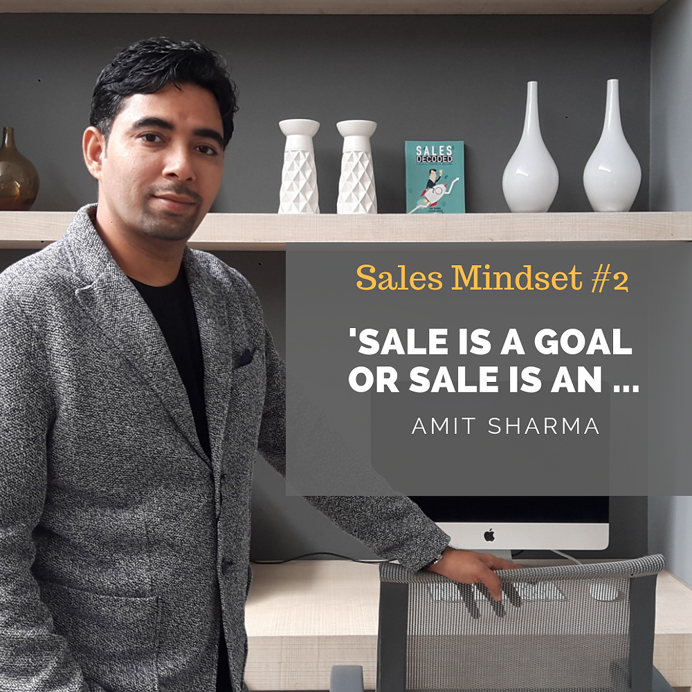 What is the Goal of a Sales Person in Selling?