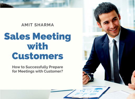 How to Successfully Prepare for your Sales Meeting with Customer?