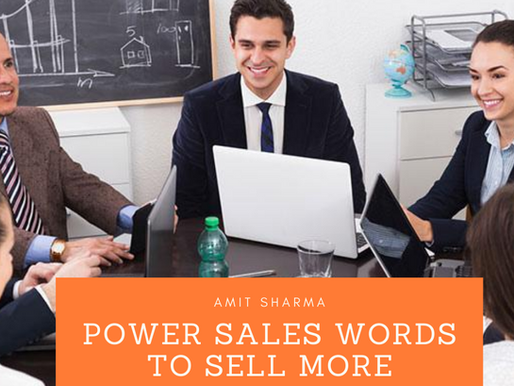Sales Power Words to help you influence Customers Purchase Decision Positively