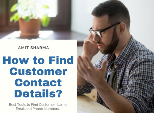 How to find Customer Contacts?