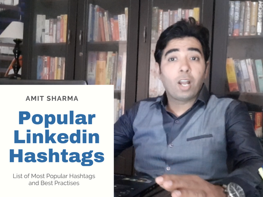 Most Popular Linkedin Hashtags and Best Practises for you