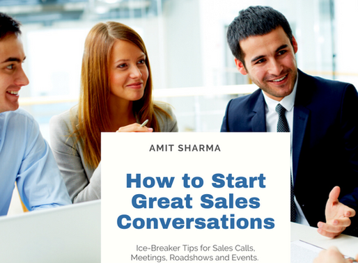 How to Break the Ice with Clients in Sales Meetings, Calls and Events.