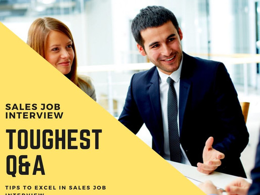 23 Toughest Sales Job Interview Questions and Answers