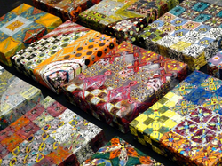 Monoprint Squares