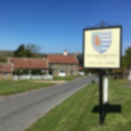 Sign Hotel North York Moors Walking Cycl