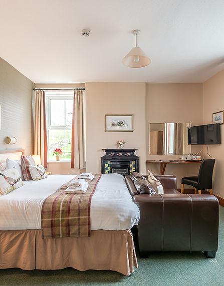 Kingsize Bedroom Hotel North York Moors.