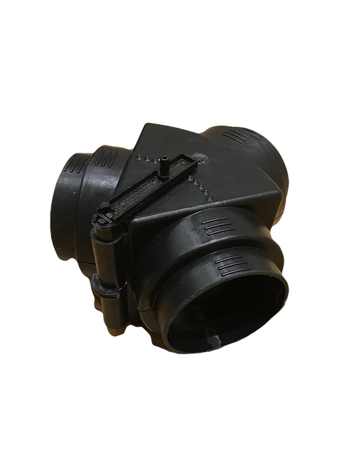 Hot air diverter - 60mm ducting