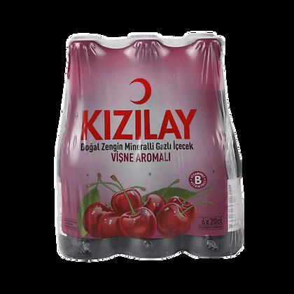 Kizilay μεταλλικό νερό με βύσσινο 6 τμχ.