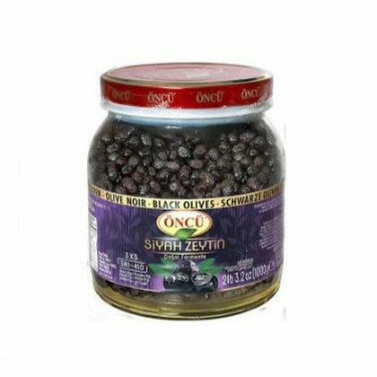Öncü Siyah Sele Zeytini Doğal Fermente 1kg